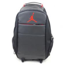 Рюкзак jordan серый с черным
