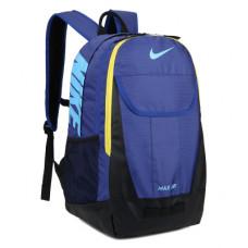 Рюкзак Nike Air Max синий с желтым