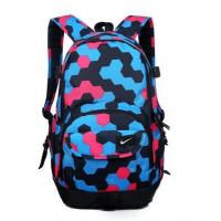 Рюкзак Nike мульти голубой с розовым