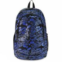 Рюкзак Adidas синие надписи