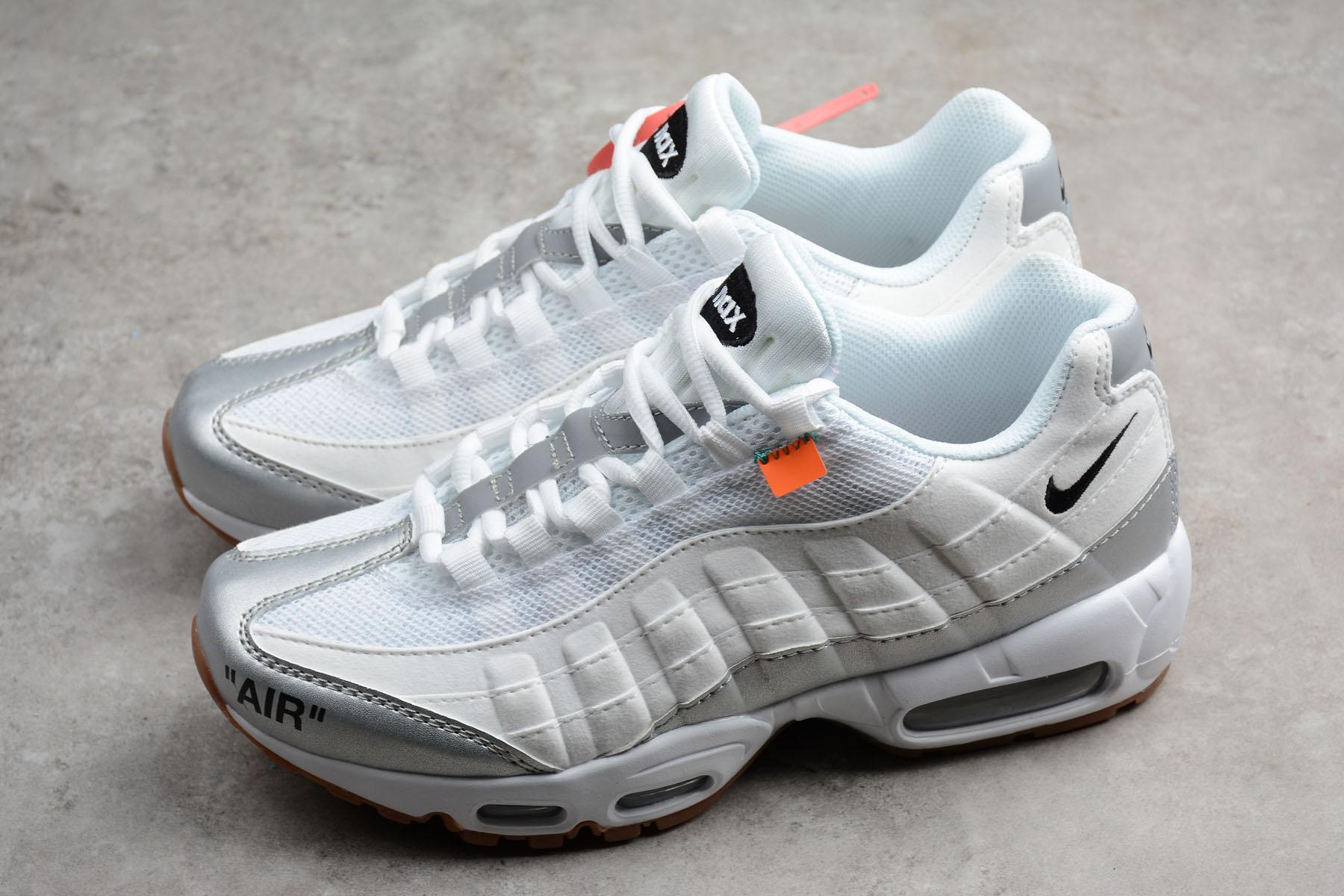 08215c81 Nike Air Max 95 Off-White Silver цены. Купить кроссовки Nike Air Max (Найк  Аир Макс) 95 Киев, Украина.